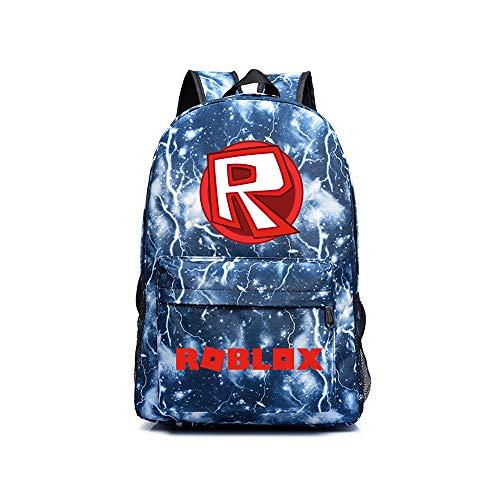 Roblox Daypacks Persönlichkeit Rucksack Flight Approved Carry On Bag Casual Daypack Schultasche für Männer...