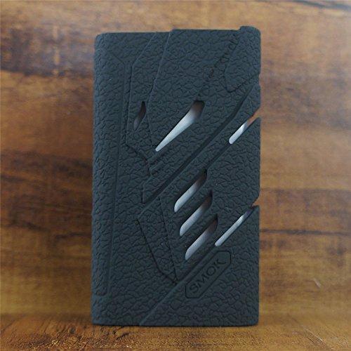 ModShield for SMOK T-PRIV 220W TC Silicone Case ByJojo T PRIV 220 W Skin Cover Sleeve Shield Wrap (Black)