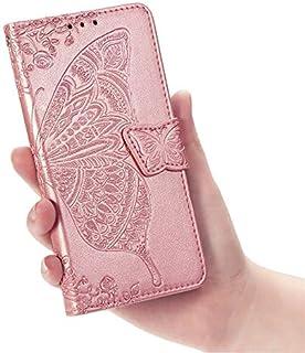 حافظات فليب - حافظة جلدية لـ RedMi 7A Note 7 6 6A 5 K20 Pro Plus Go Butterfly Flip Book Case On For Red Mi 7A 6A Note 7 No...