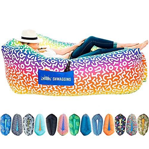 Chillbo Shwaggins Inflatable Couch – Cool Inflatable Lounger....