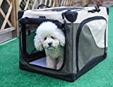foldable soft dog crate