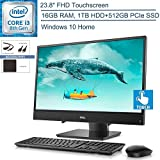 "Best All In One Desktops - 2020 Dell Inspiron 3480 23.8"" FHD Touchscreen All-in-One Review"