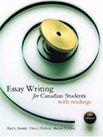 Essay Writing Canadian Students W/Rdgs 6th 0137584598 Book Cover