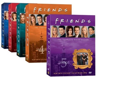 Friends: Complete First Five Seasons