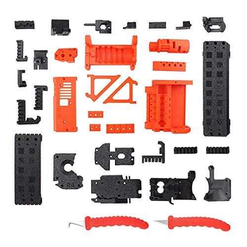 Gaetooely Impresora 3D Prusa para I3 MK3S 2.5S PETG Consumibles Piezas de ImpresióN MMU2S + Kit de ActualizacióN de Raspador