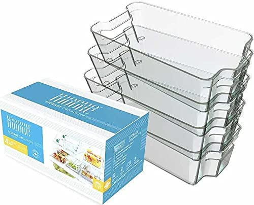 Set of Same day shipping 4 Fridge Organizers X-Large Over item handling ☆ Organized by Moore Dura -