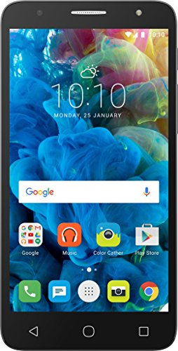 Alcatel Pop 4 Plus, Plateado