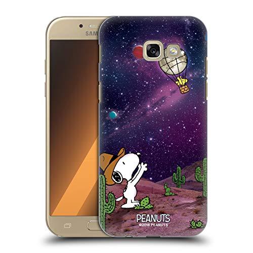 Head Case Designs Licenza Ufficiale Peanuts Nebulosa Palloncini Woodstock Snoopy Cowboy Spazio Cover Dura per Parte Posteriore Compatibile con Samsung Galaxy A5 (2017)