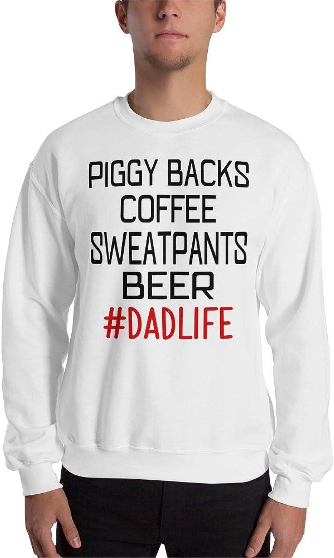 96302009 Payatek Piggy Backs Coffee Sweatpants Sweatpants Sweatpants Beer Dad Life  Sweatshirt for Father's Day da47ae