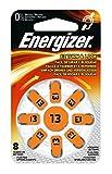 Energizer 6Stück je 8Batterien Hörgeräte Zink Air