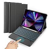 GEEMAI-TEK QWERTZ Beleuchtete Tastatur Hülle Kompatibel mit iPad Pro 11 2021/2020/2018, Bluetooth Kabellose Tastatur mit Schützhülle Kompatibel mit iPad Air 4 2020.