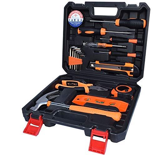ZTH STT-019S Multifunktions-Haushalt 19-teilig Elektriker Reparatur Werkzeugkasten Nivelliergerät Anzug
