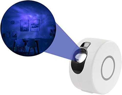 Dluna Night Light Projector, LED Nebula Cloud 7 in 1 - Star Projector, Laser Projector, for Game Rooms, Home Theatre,...