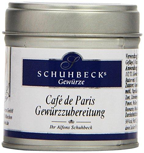 Schuhbecks Cafe de Paris Gewürzzubereitung, 3er Pack (3 x 55 g)