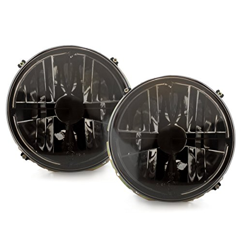 Rauch- Klarglas Scheinwerfer Fadenkreuz Set