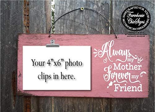 CELYCASY - Regalo para Madre de la Novia para el día de la Boda, Regalo para el día de la Madre, para el día de la Boda, Siempre mi Madre para Siempre mi Amiga, mamá, Idea de Regalo