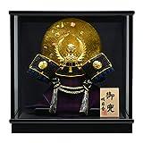 五月人形 8号兜 コンパクトケース飾り 兜飾り (徳川兜) H31-5A