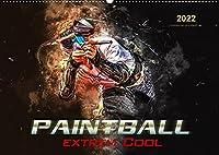 Paintball - extrem cool (Wandkalender 2022 DIN A2 quer): Paintball - Action, Spass und Spannung in spektakulaeren Bildern. (Monatskalender, 14 Seiten )