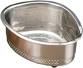 RSVP International Endurance® (CORNR) in-Sink Corner Colander Strainer Basket | Store Brushes, Catch Food Waste | Dishwash...
