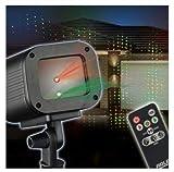 Arlec Moving Laser Light Show Outdoor Projector - Xmas Festive Light