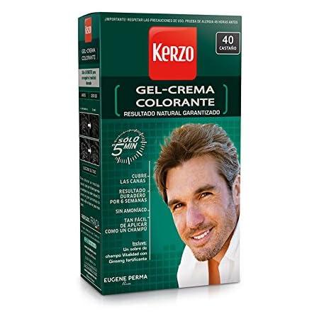 KERZO tinte para hombre Castaño Nº 40 caja 1 ud