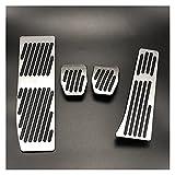 HAOHAODE yc9818 Adecuado BMW 3 5 Serie E30 E32 E34 E36 E38 E39 E46 E87 E90 E91 X5 X3 Z3 Pieza DE Pieza DE Combustible Freno DE Combustible Pedales DE Pedales Cubiertas Accesorios DE Coches