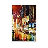 ERTEF Poster, Motiv: Time Square Leonid Afremov,