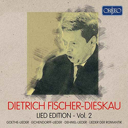 Dietrich Fischer-Dieskau, Lied-Edition-Vol.2 (4 CDs)