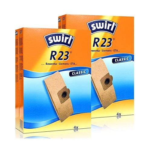 2 x Swirl Papierbeutel R 23 MP StaubsaugerStaubbeutel Microvlies