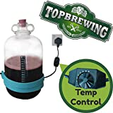 TopBrewing™ Heat Belt Pro with Variable Adjustable Temperature Control ☆ Perfect for Brewing Fermenting Home Brew Beer Wine Cider and Kombucha ☆ Free Thermometer ☆