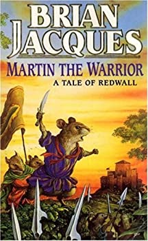 Paperback Martin the Warrior (Redwall, Book 6) Book