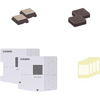 カシオ計算機 ラベルライター スタンプメーカー ポムリエ スタンプキット交換用×2 15×15mm STH-1515