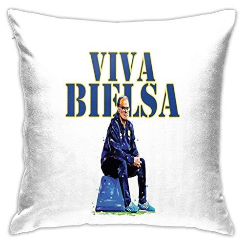 qidong Viva Marcelo Bielsa Ii Schlafzimmer Couch Sofa Quadratische Kissenbezüge Home Decor Kissenbezüge 18x18 Zoll