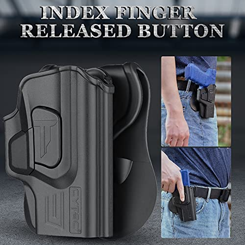 Springfield XD-S 3.3 Holsters, OWB Holster for Springfield Armory XD-S 9mm/.40/.45 3.3
