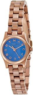 Marc by Marc Jacobs Women's Blue Dial Stainless Steel Band Watch - MBM3204