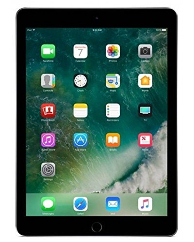 Apple iPad 9.7' (2018) 128GB Wi-Fi - Space Grey (Renewed)