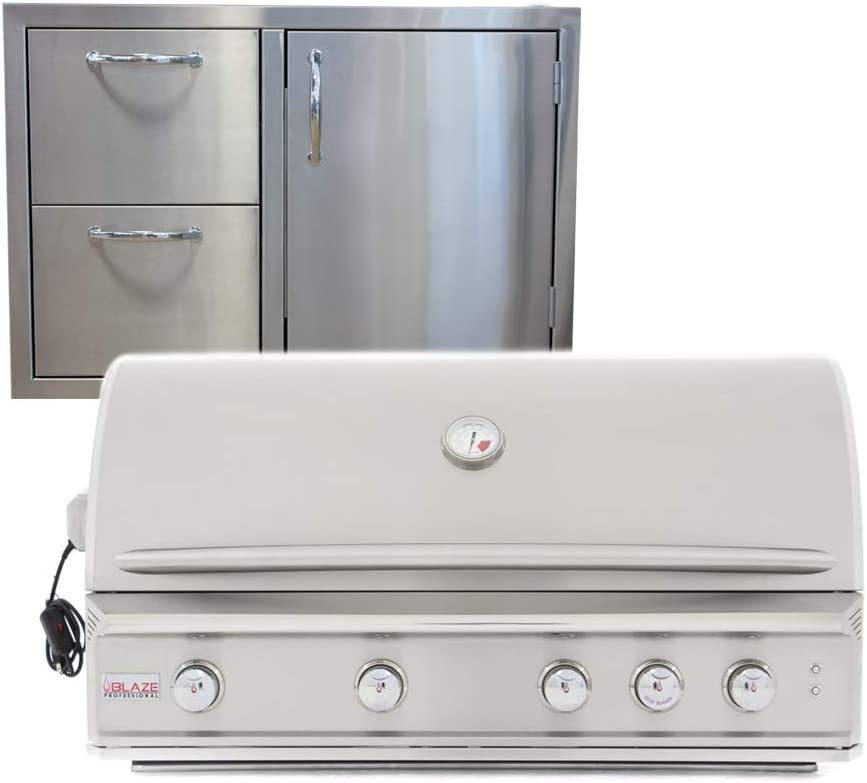 Attention brand Blaze Grills Professional Ranking TOP13 44-Inch 4 and Natural Grill Burner Gas