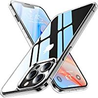 Red2Fire Crystal Anti-Yellowing Slim Thin Shockproof Protective Clear Case for 6.7