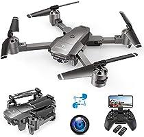 SNAPTAIN A15F 1080P Drone con Telecamera FPV, Quadricottero WiFi con Tecnologia Flusso Ottico, modalità Segna e Traccia,...