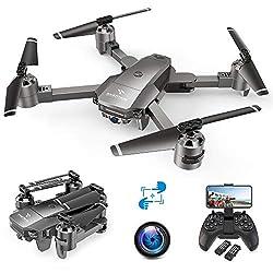 SNAPTAIN A15F Drohne mit 1080P-FPV-Kamera, WiFi-Quadcopter mit optischer Strömungstechnologie, Markierungs- und Track-Modus, Rundflug, G-Sensor, Geeignet für Anfänger