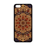 utaupia Coque iPhone 5C en Bois Silicone Mandala Indien Swag Mobile Bleu Fantaisie Apple iPhone 5C