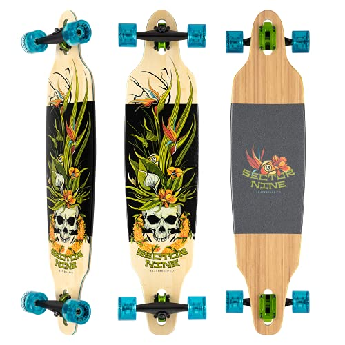 Sector 9 Longboard Complete Bamboo Lei Lookout Drop Through 24,4 x 104,5 cm