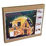 Arenart | 1 Casa Halloween 3D | para Pintar con Arenas de Colores | Manualidades para Niños y Jóvenes | Dibujo Fácil | Pintar por números | +9 años