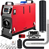 Happybuy 8KW Diesel Air Heater Muffler Diesel Heater 12V 8000W Diesel Parking Heater Remote Control Remote Control with LCD Switch for Car Bus Trucks Motor-Home and Boats