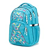 High Sierra Swerve Laptop Backpack, Tropic Teal/Toucan/White, 19 x 13 x 7.75-Inch