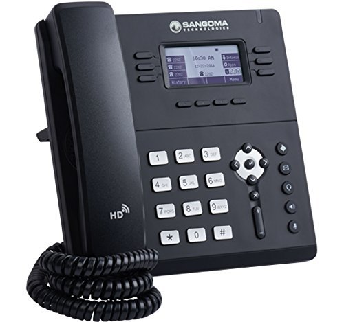 Sangoma s400 VoIP Phone with POE (or AC Adapter Sold Separately)