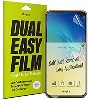 Ringke S10E-RE-SP1-DE Screen Protector For Samsung Galaxy S10E - Clear (Pack of 2)