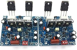 مكبر الصوت - زوج واحد KEC B817 D1047 مكبر طاقة صوت قناة تيار 100 وات مجموعة / اللوحة النهائية 15-45 فولت تيار مستمر BVWR-4...