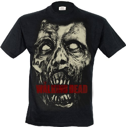 The Walking Dead - Camiseta azul azul...