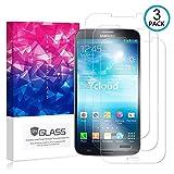Ycloud [3 Pack] Protector de Pantalla para Samsung Galaxy Mega 5.8 Pulgada (I9152),[9H Dureza/0.3mm],[Alta Definicion] Cristal Vidrio Templado Protector para Samsung Galaxy Mega 5.8 Pulgada